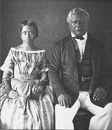 Queen Victoria Kamāmalu Ka'ahumanu IV(1838–1866),.  She was the first female to become the monarch of Hawai'i, reigning for a day in November 30, 1863. NamedWikolia Kamehamalu Keawenui Ka'ahumanu-a-Kekūanaō'a and also namedKalehelani Kiheahealani, she was mainly referred to as Victoria Kamāmaluor Ka'ahumanu IV,when addressing her as theKuhina Nui and her father Kekūanaō'a, Kuhina Nui of the Hawaiian Islands and Governor of O'ahu, full name Mataio (Matthew) Keawenui Kekūanaō'a…