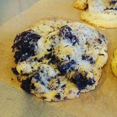 Das ist meine Erfindung der Crownie, halb Brownie halb Cookie.....made by Nico Matz