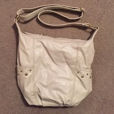 "{Crossbody Bag} In ""Like New"" Condition • Spacious bag with 2 interior pockets, an interior zipper, & 2 outside side pockets • Strap is Adjustable Length • Approximate Dimensions: 12""x 13""x 4"" H&M Bags Crossbody Bags"