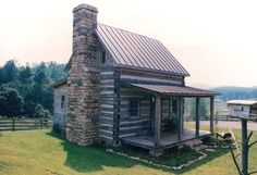 Traditional Log Cabin. This is my favorite style log cabin.