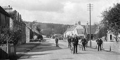 Tour Scotland Photographs: Old Photographs Conon Bridge Scotland