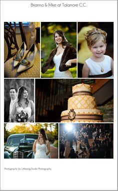 A vintage autumn wedding at Talamore Country Club.