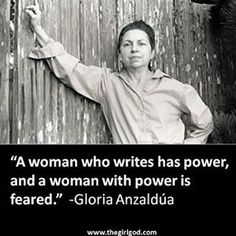"""LGBTQ Latinos-Gloria Anzaldúa Anzaldúa made history with her scholarly writings in feminism, queerness and Chicana cultural theories. She is best known for the book that she co-edited, """"This Bridge Called My Back: Writings by Radical Women of Color."""" Another one of her biggest contributions was introducing borderland identities into academia."""
