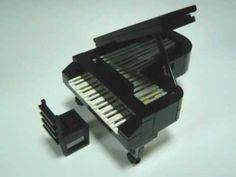 Lego tutorial: Lego Grand Piano Instructions