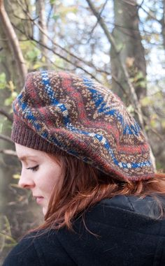 Fair Isle Hat by Scotweb Tartan Mill