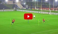 Schweinsteiger and Robben Individual Training