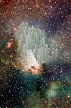 This is a photo taken by Hubble. Scientists cannot begin to figure out what it is. I like to think of it as the gate of heaven❤️