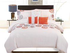 Nadjia 6 Piece Comforter Set