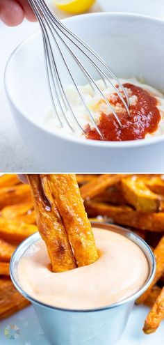 2 reviews · 5 minutes · Vegetarian Gluten free · Serves 8 · Sriracha Mayo is a quick and easy dip that will take your food to the next level. This creamy and sweet sauce is made with mayo, sriracho, lemon juice, and garlic. Make a big batch of it now and keep… Low Carb Desserts, Low Carb Recipes, Sweet Sauce, Sweet Potato Hash, Tasty, Low Carb Carrot Cake, Sushi, Dip, Healthy Spring Recipes