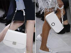 Белые сумки в осенне-зимней коллекции