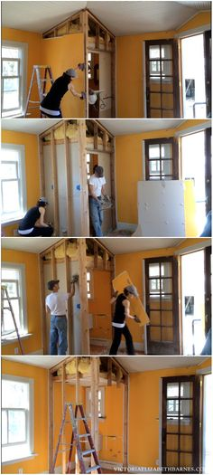 Restoring our Victorian house, one room at a time… current project is our DIY kitchen remodel: a total gut job.