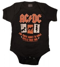 AC/DC For Those About To Walk Romper