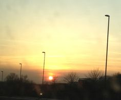 Sunset, 25th March 2012