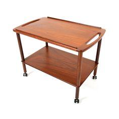 Tea Time Bar Cart | dotandbo.com