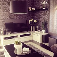 home and design image Home Decor Inspiration, House Design, Home Living Room, Home N Decor, Home, House Styles, House Interior, Apartment Decor, Home Deco