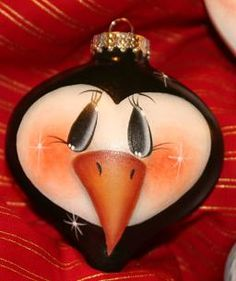 This penguin ornament is adorable!