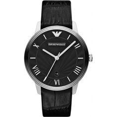 Emporio Armani AR1611 Mens Classic Dino Black Watch