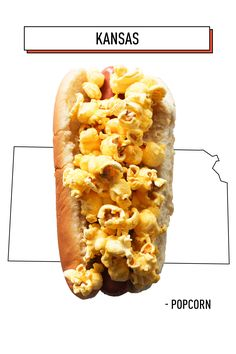Popcorn lovers, rejoice—you can, and should, be putting popcorn on hot dogs. It's the perfect balance of light, salty, and crunchy.   - Delish.com