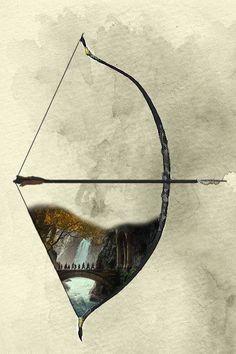 The Hobbit - Legolas's bow