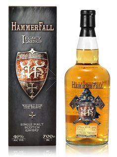 HammerFall Legacy of Kings 0,7L (46% Vol.) - Hammerfall - Whisky