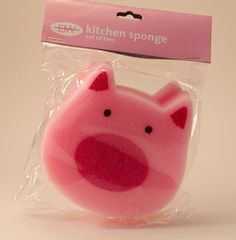 Piggy Kitchen Sponge