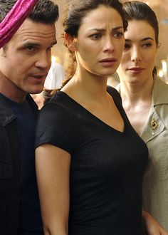Pete, Myka,  H.G.-Look at this guys...we've been canceled :(