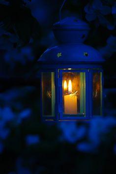 .blue lantern.