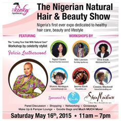 Just two more days!! Are there any questions you guys have for me for my workshop on accepting and having fun with your natural hair? #NNHB2015 #KKinLagos