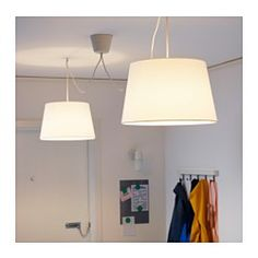 IKEA - HEMMA, Double pendant cord set, You can easily create your own unique lighting solution by hanging two pendant lamps from the ceiling.