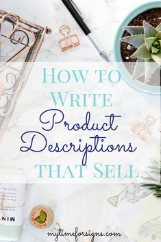 How to write product descrotptions that sell. Write product descriptions that close the sale for your Etsy shop. Craft Business, Creative Business, Business Tips, Business Planning, Online Business, Business Cards, Make Money Blogging, How To Make Money, Money Tips