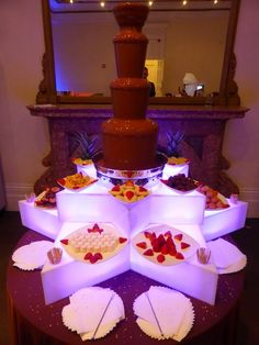 Stunning Chocolate Fountain Hire ... ~ Hot Chocolates Blog   #wedding #weddings #bride  #groom #dress #cake #chocolate #fountain   www.hotchocolates.co.uk www.blog.hotchocolates.co.uk www.evententertainmenthire.co.uk