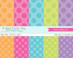 Minnie Mouse Pink Digital Paper Inspired Background