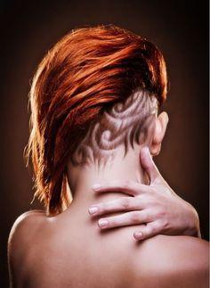 Hair Tattoos for girls - Tattoo Designs For Women!
