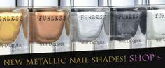 NEW metallic nail polish from Furless Cosmetics >> http://furless.com.au/