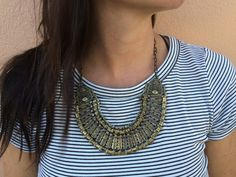 The Anatolia Necklace | www.turklynpazaar.com #turkish #necklace #brass #jewelry #boho #chic #stylish #women