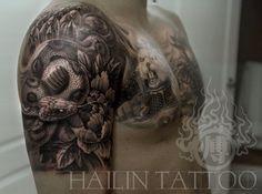 Tattoo by Hailin Fu