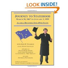 Now available as a book, Journey To Statehood, first-person tales of Alaska's history come to life through John H. Venables.