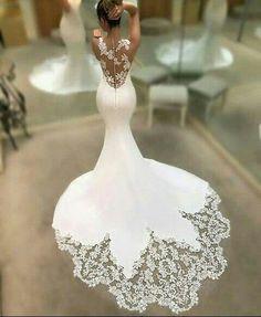 Wonderful Perfect Wedding Dress For The Bride Ideas. Ineffable Perfect Wedding Dress For The Bride Ideas. Dream Wedding Dresses, Bridal Dresses, Wedding Gowns, Bridesmaid Dresses, Bridesmaids, Mermaid Wedding Dresses, Fitted Wedding Dresses, Wedding Ceremony, Beach Dresses