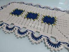 Crochet Table Mat, Baby Blanket Crochet, Crochet Squares, Crochet Doilies, Crochet Designs, Crochet Patterns, Owl Rug, Crochet Decoration, Crochet Gifts