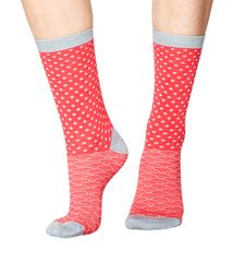 Wren women's super-soft bamboo crew socks in raspberry | By Thought