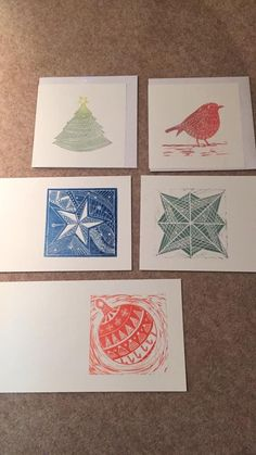 Christmas Blocks, Christmas Paper, Christmas Images, Christmas Design, Christmas Crafts, Tampons, Etchings, Block Prints, Linocut Prints