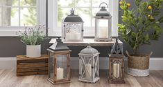 If you're planning a spring wedding, look no further than lanterns! Line the aisle, style a centerpiece, or decorate the gift table. With the subtle lighting, you'll be feeling the love in no time!