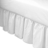 Found it at Wayfair - Ruffled Bed Skirt in White