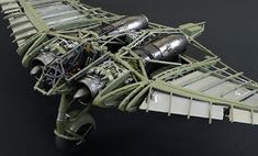 "Just before we sealed here up we thought we would show you an option for displaying your Horten Ho 229. The ""skeletal"" approach is on di..."