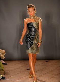 """The WendyB Dress"", Dress, edgy modern chic luxury evening, Chic  Designer: stacy lomman  $850.00"