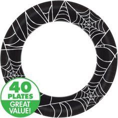 Spider Web Dinner Plates 40ct