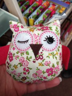 Winking owl sewing idea :)