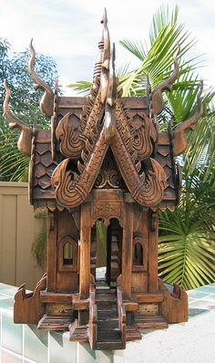 Thai Spirit House by Kim Beckmann, via Flickr