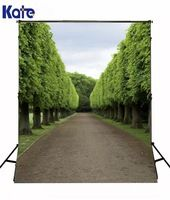 10*6.5Feet(300*200Cm) Photography Backdrops Photography Background Fotografia Tree Woods Road
