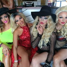 Shangela doing Dallas Pride with Alyssa Edwards, Laganja Estranja and April Carrion